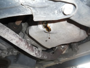 ワゴンRエンジンオイル交換