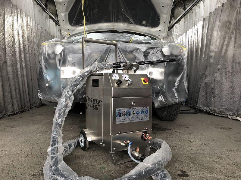 ドライアイス洗浄機